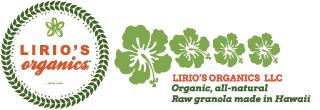 Lirio's Organics Raw Granola: Organic, all-natural raw, handmade in Hawaii